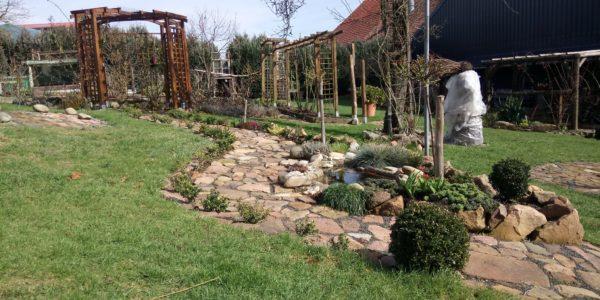 Garten in Fischbach