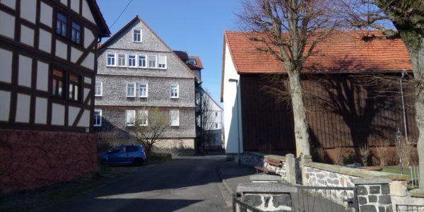 Gebäude in Schwabenrod