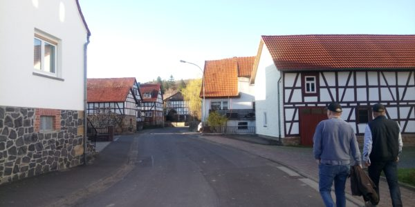 Strasse in Heidelbach