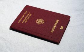 Beantragung Reisepass