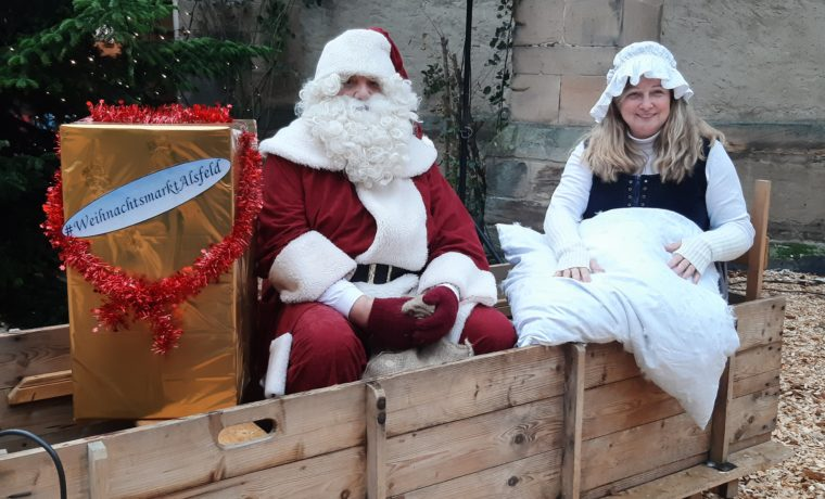 Nikolaus und Frau Holle