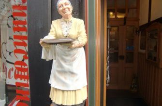 Omas CafeStubb Figur